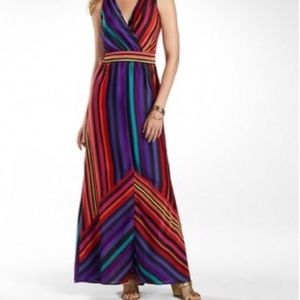 Worthington • Multi-Color Maxi Dress